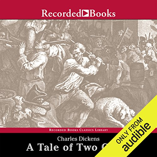 A Tale of Two Cities & Great Expectations audiobook cover art