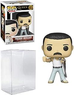 Freddie Mercury Radio Gaga 1985 Pop #183 Pop Rocks Queen Vinyl Figure (Includes Compatible Ecotek Plastic Pop Box Protecto...