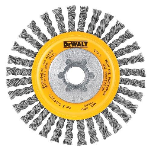 DEWALT Wire Wheel, Stringer Bead, 4-Inch (DW4925)