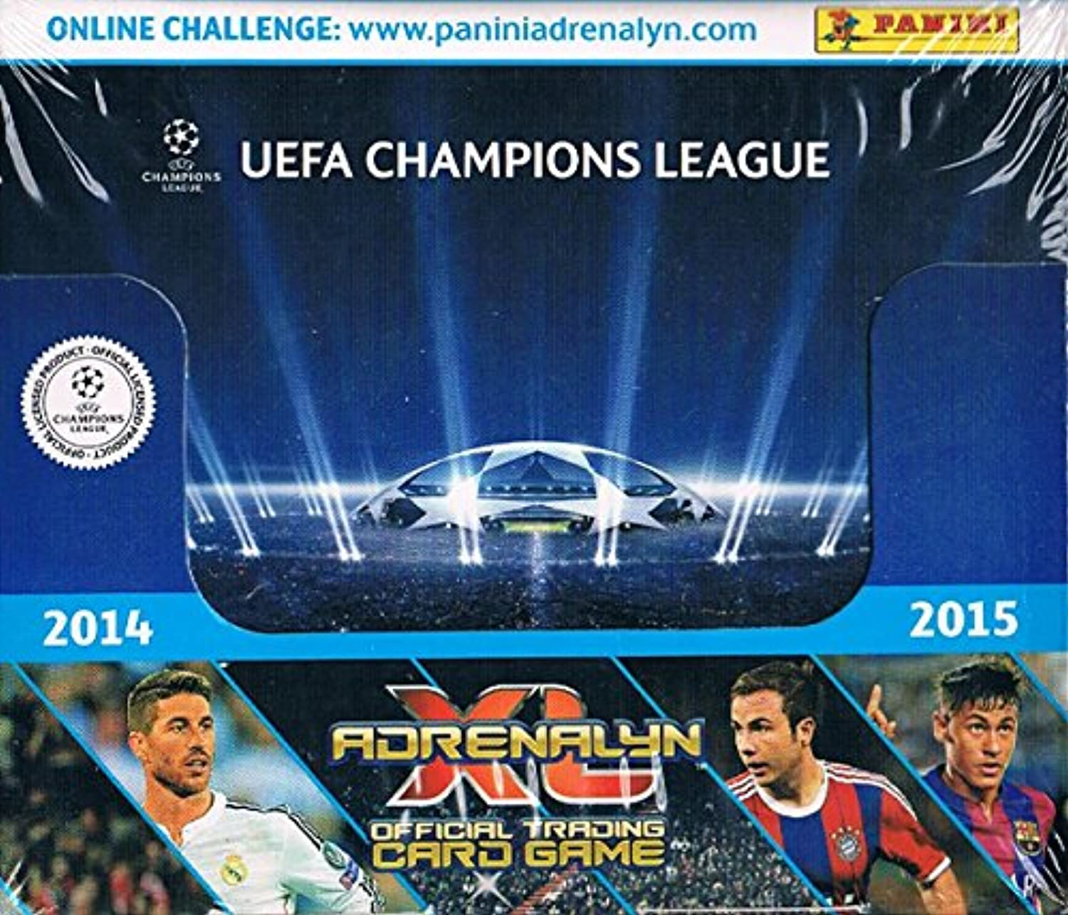 Panini Champions League 2014-15 Adrenalyn XL Booster Display (50 Booster)