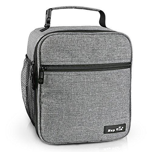 Hap Tim Lunchbox Tasche kühltasche Isoliertasche kleine Lunchtasche für die Arbeit und Schule 6.5L Lunch Tasche Thermotasche Picknicktasche Mittagessen Tasche Bento Box(Gray UK-18654-G)