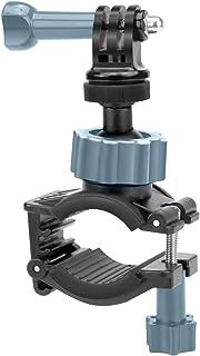 USA GEAR - Soporte Accesorio Moto Camara para bicicleta adaptable a diferentes tamaños de manillar rotación 360 grados – para GoPro o similares más adaptador tripode GoPro HERO4 Session 3+