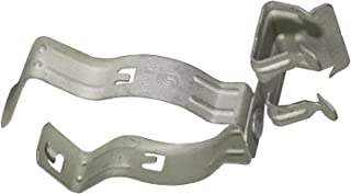 Phoenix FS2-4 C8-12 Flange Clip with Conduit clamp Assembly, Hammer on, Side Mount, Spring Steel, 1/8
