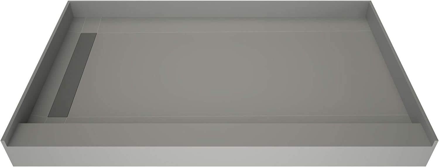 Tile Ranking TOP16 Redi F4860L-SCWFBVZ Shower Pan Left with Drai Flashing Challenge the lowest price Kit