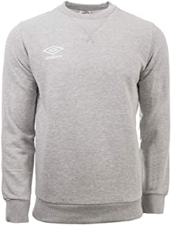 Umbro Men's Fleece Small Logo Sweat Sweatshirt