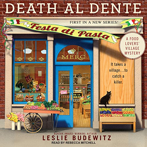 Death al Dente audiobook cover art