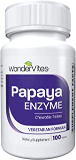 Sponsored Ad - WonderVites Papaya Enzyme Digestive Enzyme, Anti Inflammatory Supplement, Papain, Amylase Enzyme & Protease...