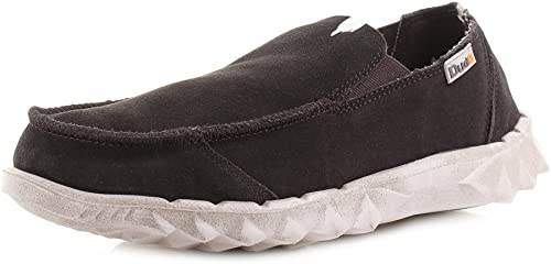 Dude chaussures Hommes's Farty Chocolate Suede Slip Slip On Mule  bas prix