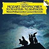 モーツァルト:交響曲第36番「リンツ」 第38番「プラハ」