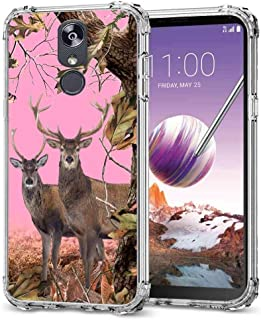 for LG Stylo 5 Camo Case, BAYKE Slim Flexible TPU Bumper Cushion Protective Cover with Reinforced Corners for LG Stylo 5 Camo Case