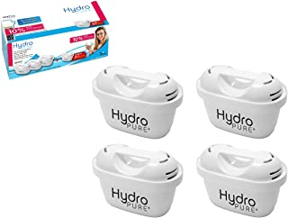 Boston Tech Hydro Pure + 4 Cartouches, filtres compatibles Brita Maxtra Eau avec des cruches et Maxtra +, Effet prolongé (...