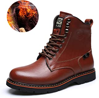 Waterproof Boots Lace up Desert Martin Boots for Women and Men