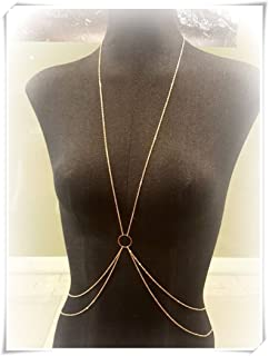 Body Chain,X Shape Body Chain,Open Circle Body Chain,Beach Body Jewelry。