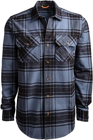Timberland PRO Woodfort - Camisa de trabajo de franela de peso pesado para hombre