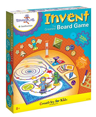 Creativity for Kids Spark!Lab Smithsonian (Invent The Greatest Board Game) JungleDealsBlog.com