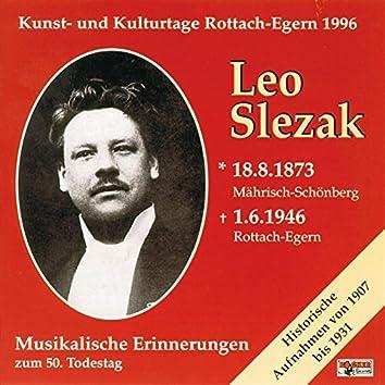 Musikalische Erinnerungen zum 50.Todestag