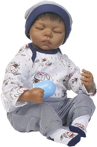 CHENG Simulation Doll Soft Silicone Rebirth Realistic Dolls 20 Zoll niedliche Baby-Geburtstagsgeschenk