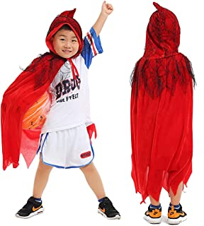 Halloween Costume – Halloween Custume with Wizard Hat, Spider Cape for Boys, Girls, Man, Women and Families