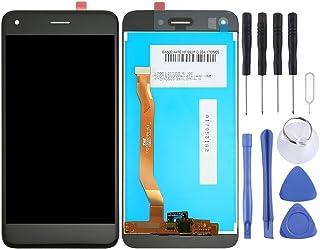 Ersätta gamla eller dåliga delar För Huawei Njut av 7 / Y6 Pro 2017 / P9 Lite Mini LCD-skärm och digitizer Fullständigt mo...