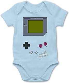 Shirtracer Strampler Motive - Gameboy - Baby Body Kurzarm für Jungen und Mädchen