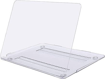 MOSISO Funda Dura Compatible 2018 MacBook Air 13 Pulgadas A1932 con Pantalla Retina & Touch ID, Ultra Delgado Carcasa Rígida Protector de Plástico Cubierta, Cristal