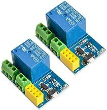 N / A 2pcs ESP8266 Relay Module Smart Home Phone Remote Control Switch