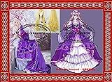 豪華版 コスプレ 八雲紫風 衣装+ウイッグ+帽