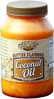 Golden Barrel Butter Flavored Coconut Oil (32 Oz.)