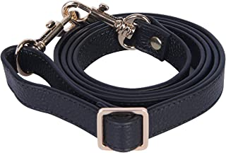 """Full Grain Leather Adjustable Crossbody Straps Replacement - 0.7"""" Wide, 25""""-51"""" Long"""