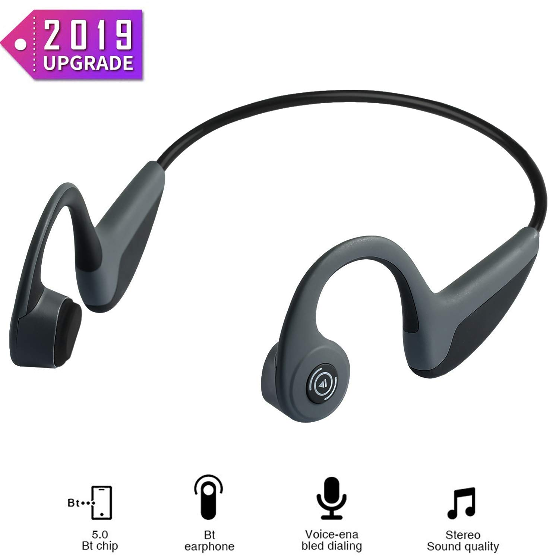 Bone Conduction Headphones Waterproof Lightweight 1 2