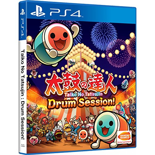 TAIKO NO TATSUJIN: DRUM SESSION! (ENGLISH SUBS) for PlayStation 4 [PS4]