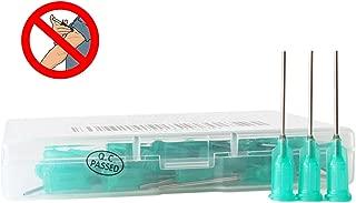 BSTEAN Industrial Unsterilized Blunt Tip Dispensing Needle with Luer Lock 18 Ga 1.0 Inch - 50 PCS
