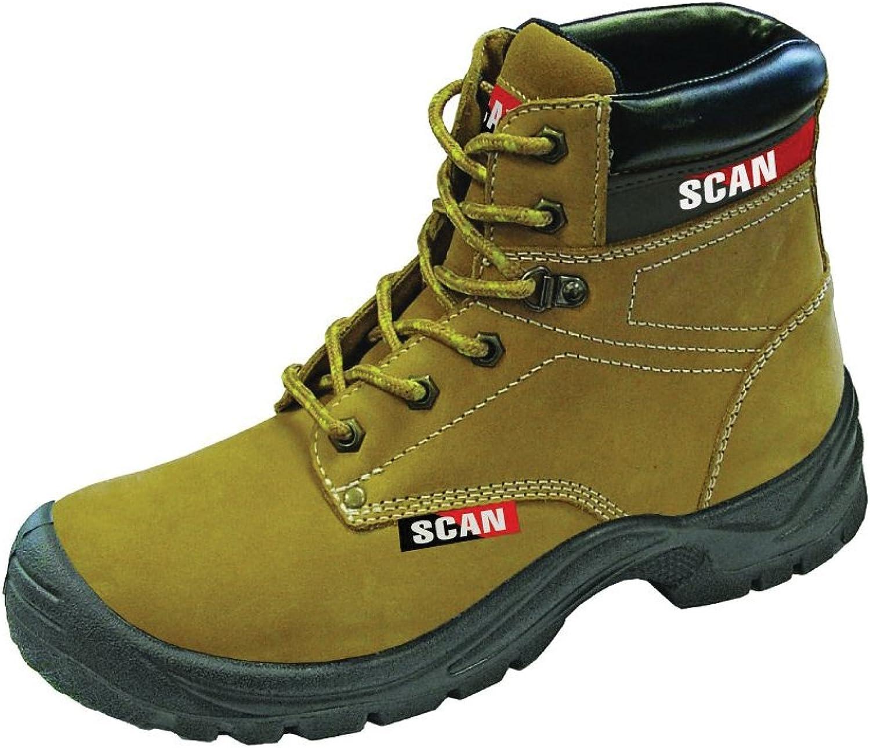 Scan Cougar Nubuck Nubuck Nubuck Safety Stiefel S1P Größe 12-47  6c4e3c