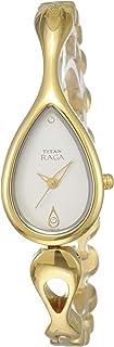 Titan Raga Analog Silver Dial Women's Watch -NM2400YM01 / NL2400YM01