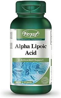 Vorst Alpha Lipoic Acid 300mg 90 Capsules ALA Antioxidant Anti-Aging Acido Alfa Lipoico Paleo Friendly