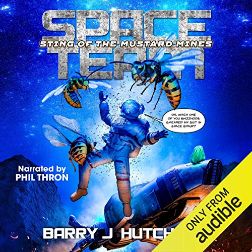 Space Team: Sting of the Mustard Mines audiobook cover art