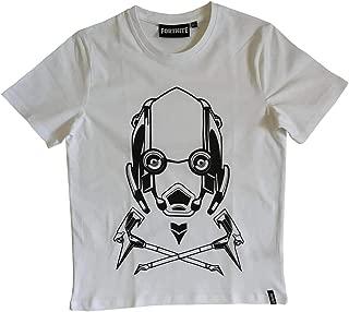 Maglietta a Maniche Corte-Bianco Fortnite-T-SHIRT-Shirt 140-176