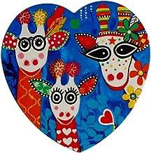 Maxwell & Williams Love Hearts Ceramic Heart Coaster 10cm Mr Gee Family