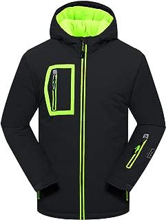 Big Boy's Waterproof Breathable Snowboard Ski Jacket