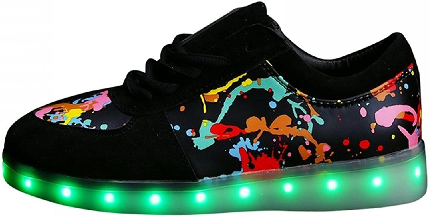 Led Light Up shoes for Womens Flashing Rechargeable Sneakers