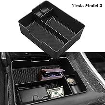 EDBETOS Center Console Organizer Tray Compatible with Tesla Model 3 Armrest Glove Box Secondary Storage 2017-2019
