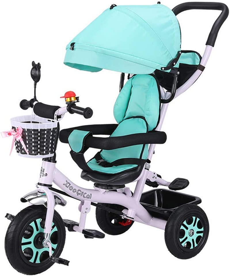 Tricycle Don't miss the campaign Kids Trike 4 in Guard Canopy with Safety 1 Indefinitely