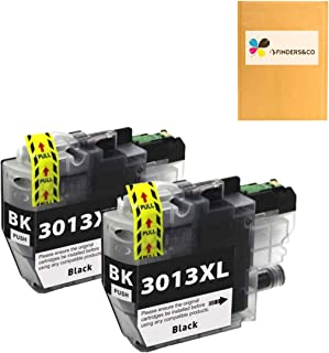 F FINDERS&CO LC3013BK LC3013 XL Black Ink Cartridge Replacement for Brother LC 3013 LC3011 LC-3013 XL Ink Compatible with ...