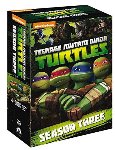 Teenage Mutant Ninja Turtles - Stagione 3 Completa (4 DVD)