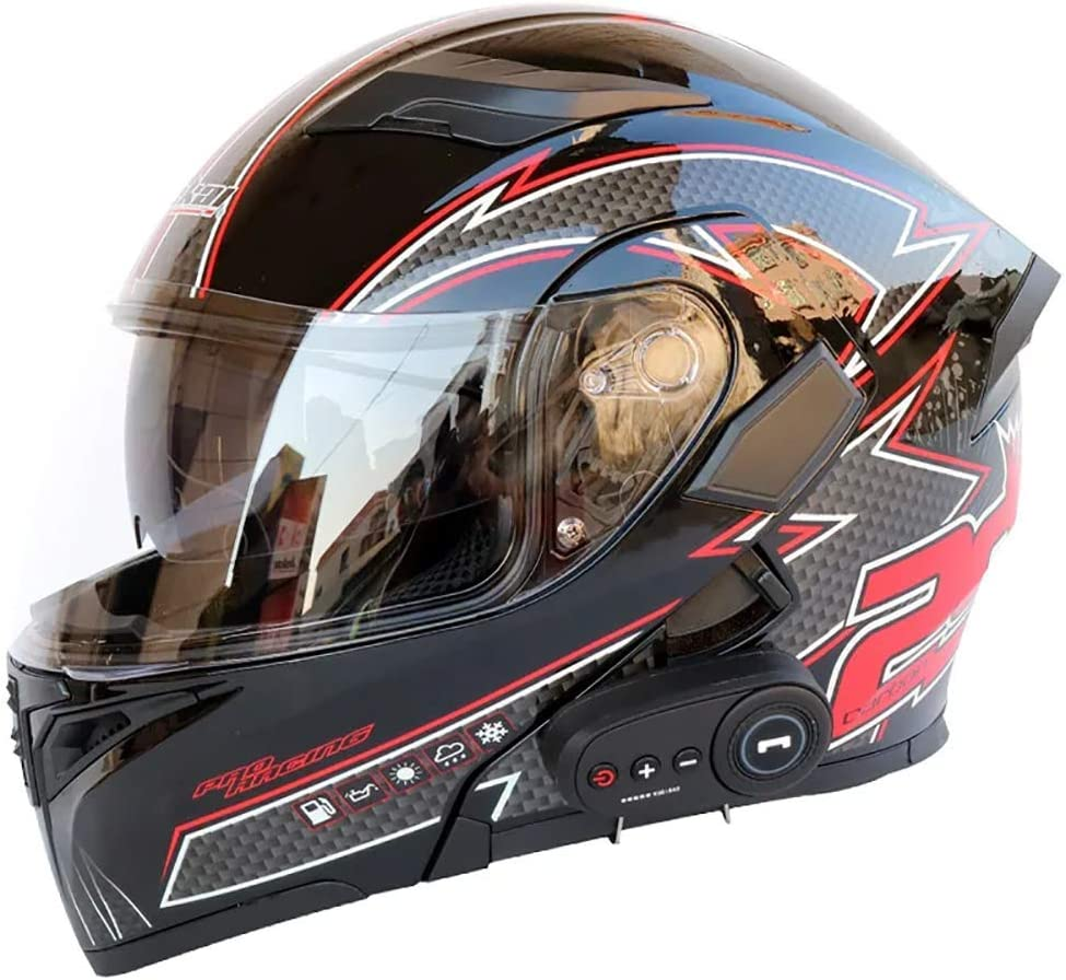 Safety and trust MY-COSE Modular Motorcycle Helmets Certificat Bluetooth with New sales DOT