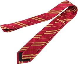 Ogquaton Rayon Cravate Style Collège Cravate À Rayures Motif Cravate Vêtements Accessoires pour Cosplay Usage Quotidien 1 PCS Rouge
