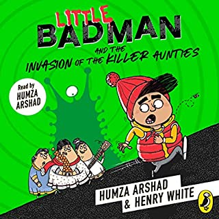 Little Badman and the Invasion of the Killer Aunties audiobook cover art