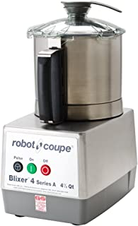 Robot Coupe BLIXER 4 Blixer Commercial Blender/Mixer, 4.5-Liter Bowl, Stainless Steel, 120v