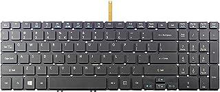 Acer TravelMate P658-M P658-MG、フレームなしの米国レイアウト互換英国用ラップトップバックライトキーボード (Color : Default)