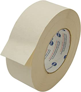 "Intertape 591/BEIG236 591 Double Sided Flat Back Paper Tape: 2"" x 36 yd, Beige"